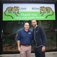 Tony Parker Named the San Antonio Zoo's Newest Jaguar Cubs