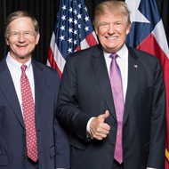 Rep. Lamar Smith Believes Trump is the Most Trustworthy News Source