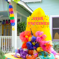 San Antonio neighborhoods transform into a Fiesta paradise for debut House Float Parade