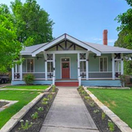 A home once owned by former San Antonio mayor Ivy Taylor is now for sale in Dignowity Hill