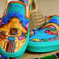 Puro San Antonio shoe designs earn Edison High School $15,000 for its art program in Vans contest