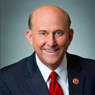U.S. Rep. Louie Gohmert of Texas dismisses the January 6 insurrection at QAnon-tied event