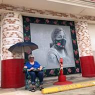 Jefferson Bodega unveils new COVID-safety mural by San Antonio artist Kim Bishop