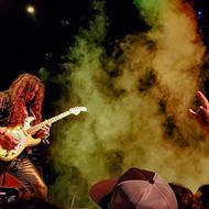 Neoclassical guitar shredder Yngwie Malmsteen took San Antonio's Tobin Center by force