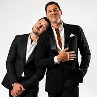 Dancers Maks and Val will let it all hang out at San Antonio's Tobin Center on Tuesday