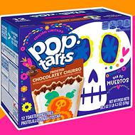 Pop-Tarts releases limited-edition Día de Muertos pastries featuring churro flavor, skull icing designs