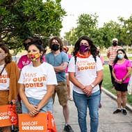 Saturday's 'Bans Off Our Bodies' march in San Antonio will happen, rain or shine