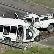Witness Says Driver Who Crashed into Church Bus Was Texting