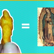 San Antonio Man Finds Cheeto that Looks Like the Virgin Mary