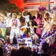 Light Up Your Saturday Night with the Illuminated Fiesta Flambeau Parade