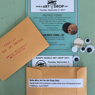 How to Participate in World Art Drop Day