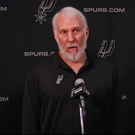 Coach Pop Sounds Off About Trump's Attack on NBA, NFL