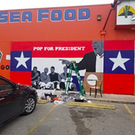 "Carmelita's Partially Takes Down ""Pop for President"" Mural Because of Fully-Triggered Customer"