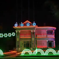 Check Out This San Antonio Homeu0027s Star Wars Inspired Christmas Light Show