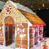 You Can Now Have a Meal Inside a Life-Size Gingerbread House