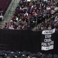 PETA Protested the Texas A&M Graduation and the Crowd Got Triggered