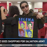 Selena's Widower Went On a Shopping Spree, Donated It All to the Salvation Army