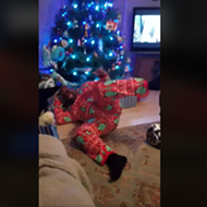 This San Antonio Dad's Christmas Hoverboard Fail Went Viral