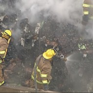 Thousands of Avocados Spill Onto Texas Highway After Rig Catches Fire