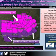 Another Winter Storm is Headed to San Antonio Tonight