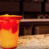 Santikos Mayan Palace Just Teased New Mango Chamoy Margaritas and We're Already Salivating