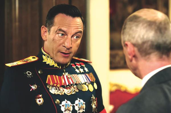 Jason Isaacs as Georgy Zhukov - IFC FILMS