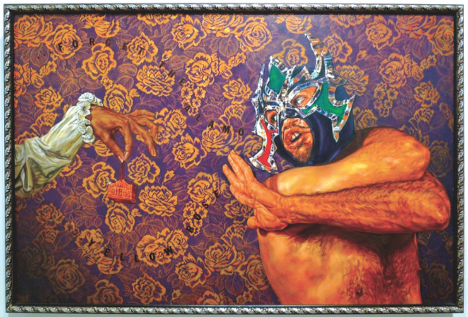 Antifaz: Forget The Alamo. Yellow Rose. - ÁNGEL RODRÍGUEZ-DÍAZ
