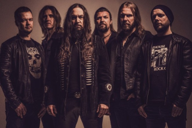 Headlining band Amorphis has taken its music in a more eclectic direction, incorporating psychedelia, prog and folk.