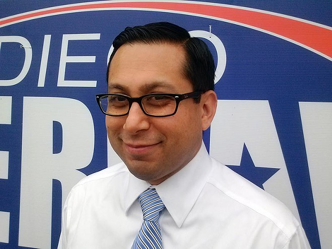 State Rep. Diego Bernal plans to file a bill in the 2019 legislature that would help long-term homeowners strained by the gentrification of their neighborhoods. - JADE ESTEBAN ESTRADA
