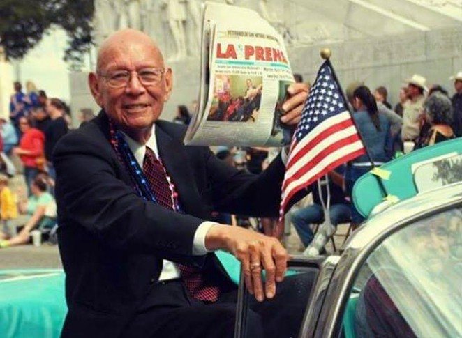 Tino Durán was the publisher and CEO of La Prensa Newspaper until his retirement in 2016. - COURTESY PHOTO