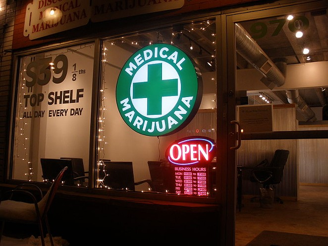 Nope, Texas doesn't have anything like this Colorado dispensary. At least not yet. - WIKIMEDIA COMMONS