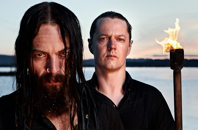 After the farewell tour, Satyricon will no longer show their stern faces stateside. - COURTESY PHOTO