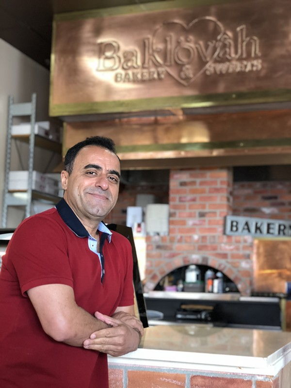 Kamran Hajivandi, one of the owners of Pasha Restaurant Family Group - JESS ELIZARRARAS