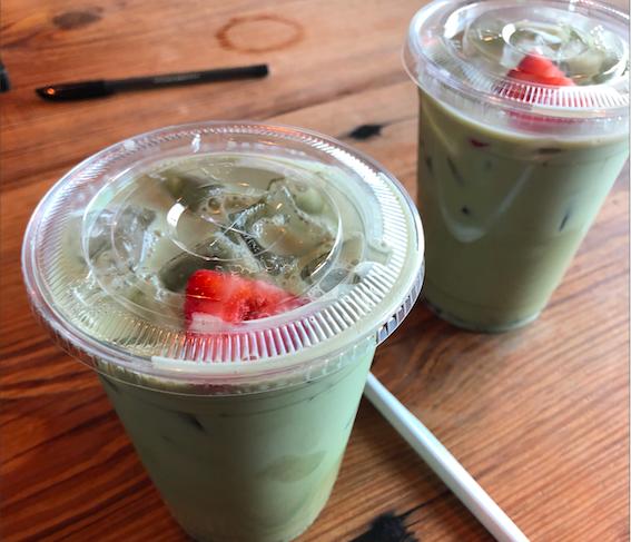The Jade Warrior from Indy Coffee Club. - JESS ELIZARRARAS