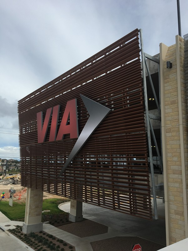 VIA Metropolitan Transit will host a ceremonial grand opening for its largest Park and Ride facility on Saturday. - MEGAN RODRIGUEZ