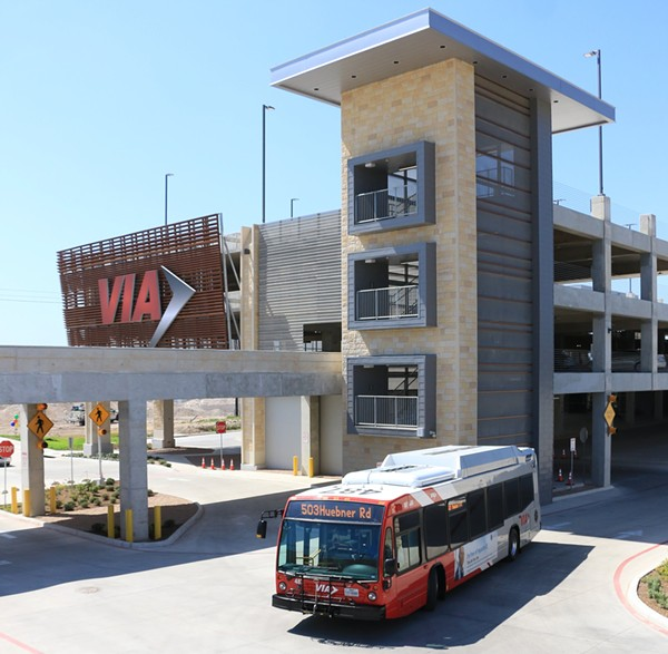 The Stone Oak Park and Ride facility opened May 21. - PROVIDED BY VIA METROPOLITAN TRANSIT