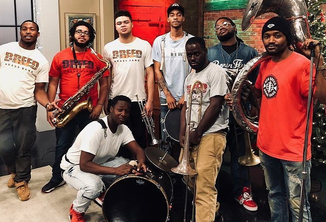 FACEBOOK / NEW BREED BRASS BAND