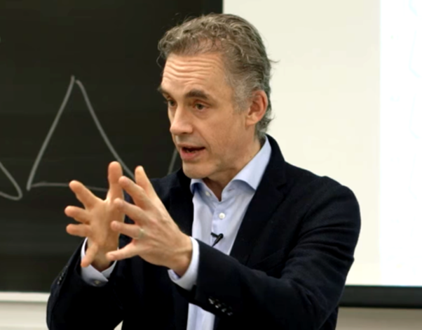 Jordan B. Peterson, shown here at a University of Toronto lecture, has emerged as darling of the right-wing press. - WIKIMEDIA COMMONS