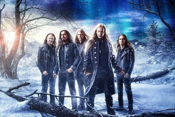 Wintersun is so epic its promo photo is actually a painting. - COURTESY PHOTO
