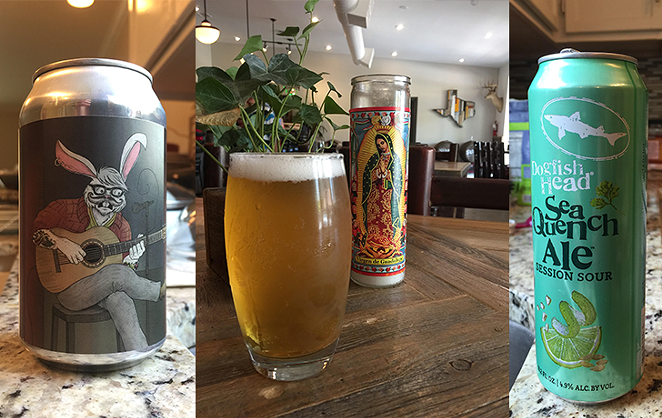 Kunstler Brewing King Willy Kolsch (center) and more beers we're digging this summer. - LANCE HIGDON