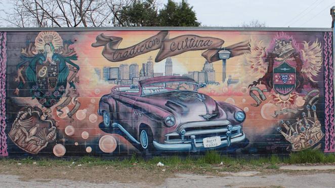 FACEBOOK / SAN ANTONIO WALL ART