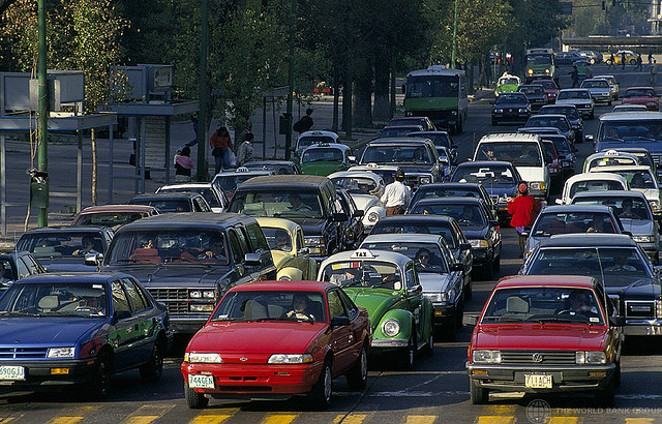 Traffic is just one perk of living in a boomtown. - FLICKR CREATIVE COMMONS