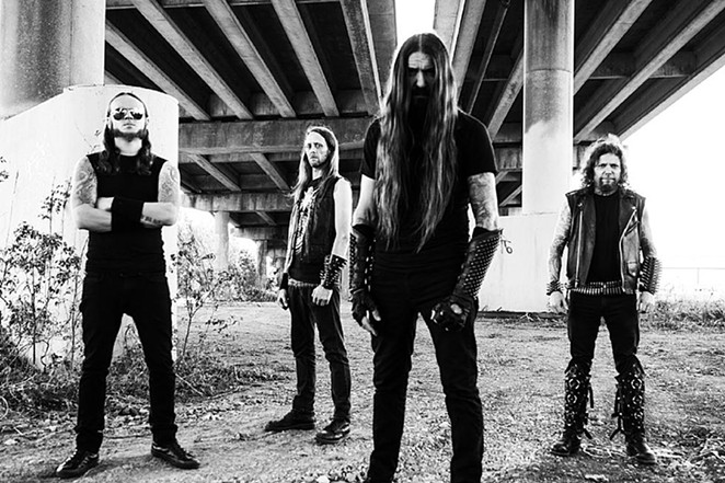 New Orleans' Goatwhore is headlining the 8th Metal Alliance Tour. - COURTESY PHOTO