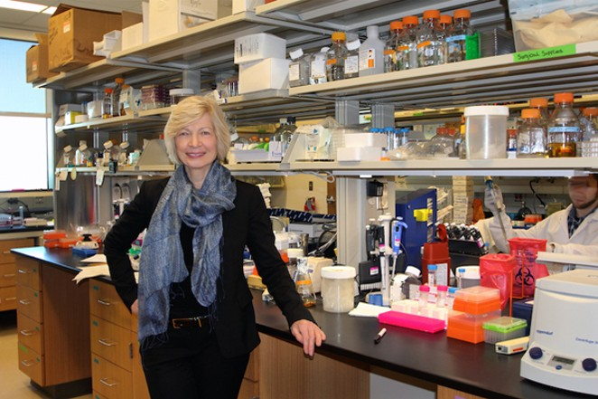 Dr. Ruth Ruprecht, director of the Texas Biomed AIDS Research Program - COURTESY