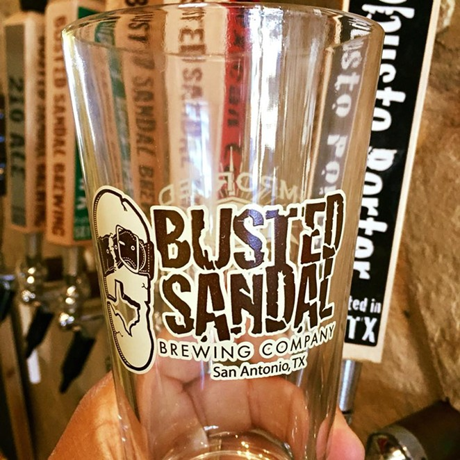 FACEBOOK/BUSTEDSANDALBREWING