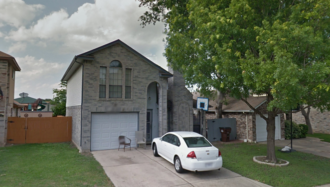 The home is located behind Big Country Elementary School, which can be seen in the background. - GOOGLE MAPS