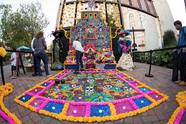 Where To Celebrate Dia De Los Muertos In San Antonio Artslut