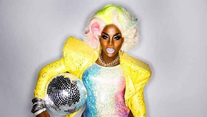 Monét X Change is just one of the Drag Race queens taking part in the festivities. - JOVANNI JIMENEZ-PEDRAZA