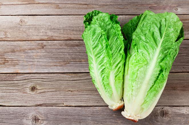 Stay away from romaine lettuce. - SHUTTERSTOCK