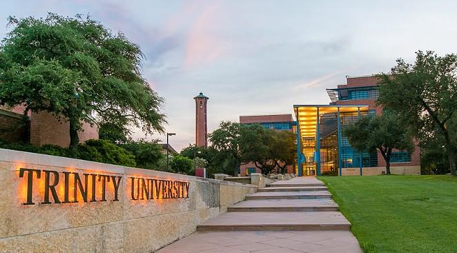 Trinity University is one the South Texas schools with cross-border exchange programs. - COURTESY OF TRINITY UNIVERSITY